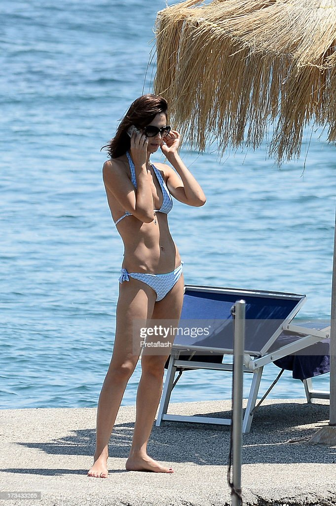 Actress Anna Safroncik is seen at the 2013 Ischia Global Fest on July 14, 2013 in Ischia, Italy.