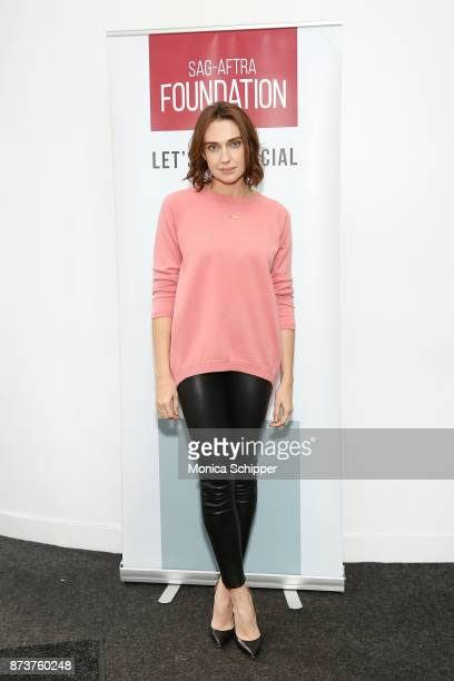 Actress Anna Schafer attends SAGAFTRA Foundation Conversations 'Elizabeth Blue' With Anna Schafer And Thelma Adams at The Robin Williams Center on...