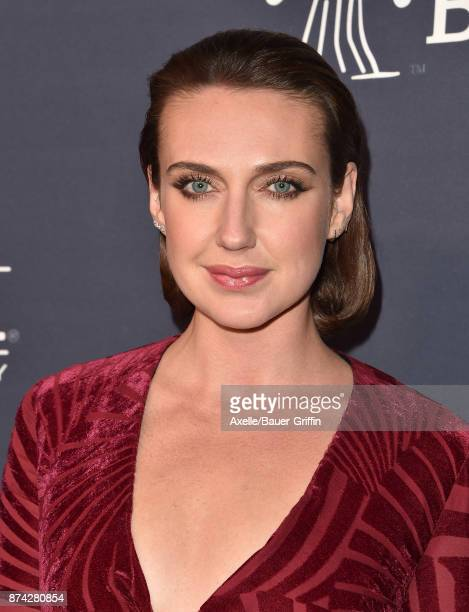 Actress Anna Schafer attends the 2017 Baby2Baby Gala at 3LABS on November 11 2017 in Culver City California