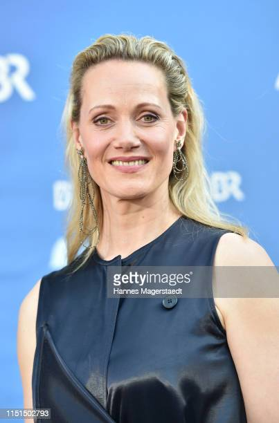 Actress Anna Schudt attends the Bayerische Fernsehpreis 2019 at Prinzregententheater on May 24, 2019 in Munich, Germany.