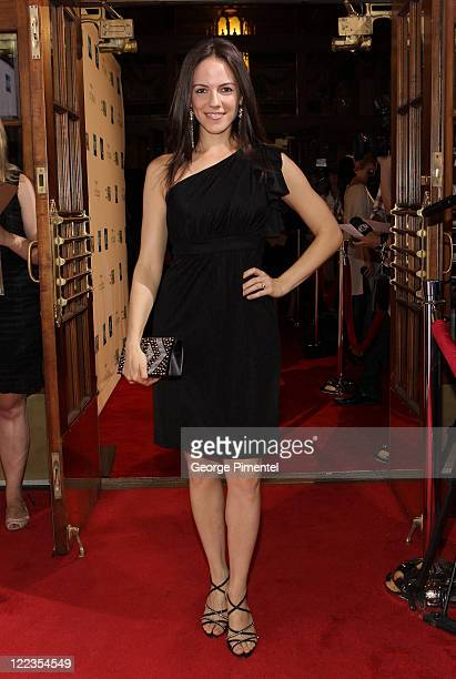 Actress Anna Silk attends the AMEX Exclusive Gala Screening and Canadian Premiere of 'Twilight Saga Eclipse' at the Winter Garden Theatre on June 28...