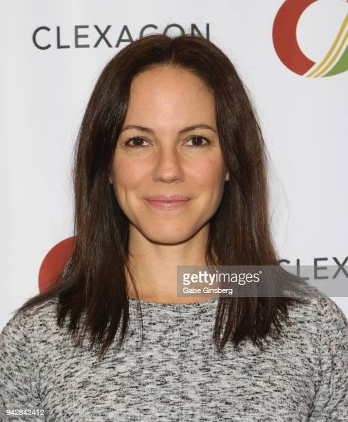 Actress Anna Silk attends the ClexaCon 2018 convention at the Tropicana Las Vegas on April 6 2018 in Las Vegas Nevada