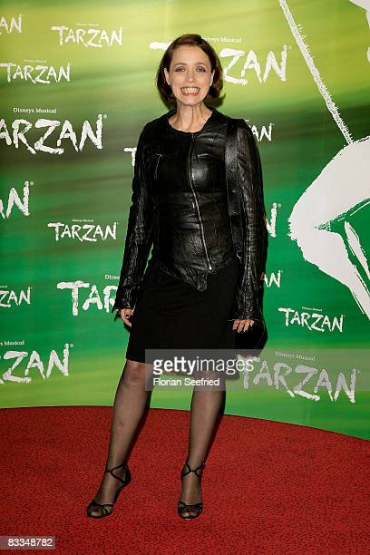 Actress Anna Thalbach attends the German premiere of 'Tarzan Musical' at the New Flora on October 19 2008 in Hamburg Germany