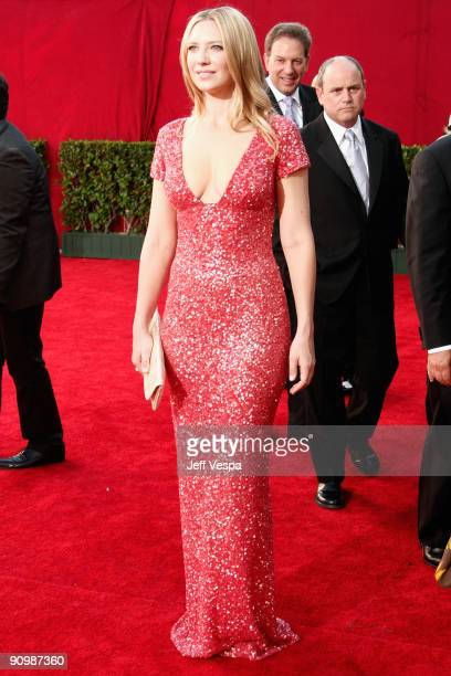 Actress Anna Torv arrives at the 61st Primetime Emmy Awards held at the Nokia Theatre on September 20 2009 in Los Angeles California