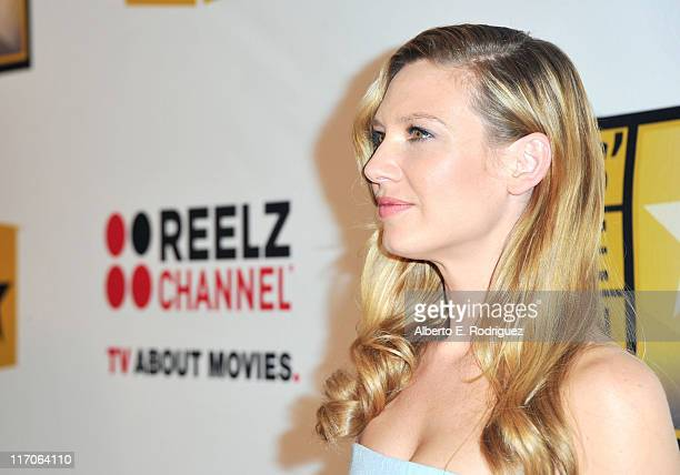 Actress Anna Torv arrives at the Critics' Choice Television Awards at Beverly Hills Hotel on June 20 2011 in Beverly Hills California