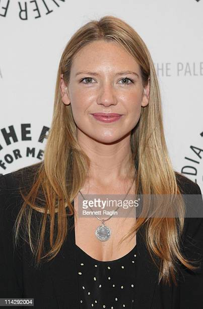 Actress Anna Torv attends an Evening with Fringe at The Paley Center for Media on May 17 2011 in New York City