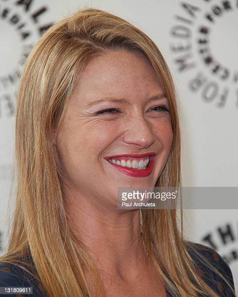 Actress Anna Torv attends an evening with Fringe at The Paley Center for Media on May 19 2011 in Beverly Hills California