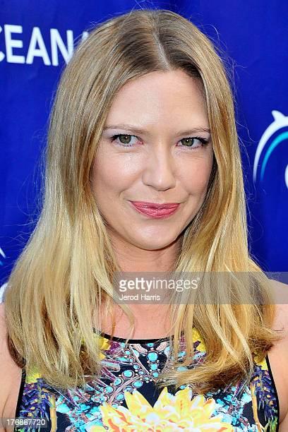 Actress Anna Torv attends the 6th annual Oceana's SeaChange summer party on August 18 2013 in Laguna Beach California