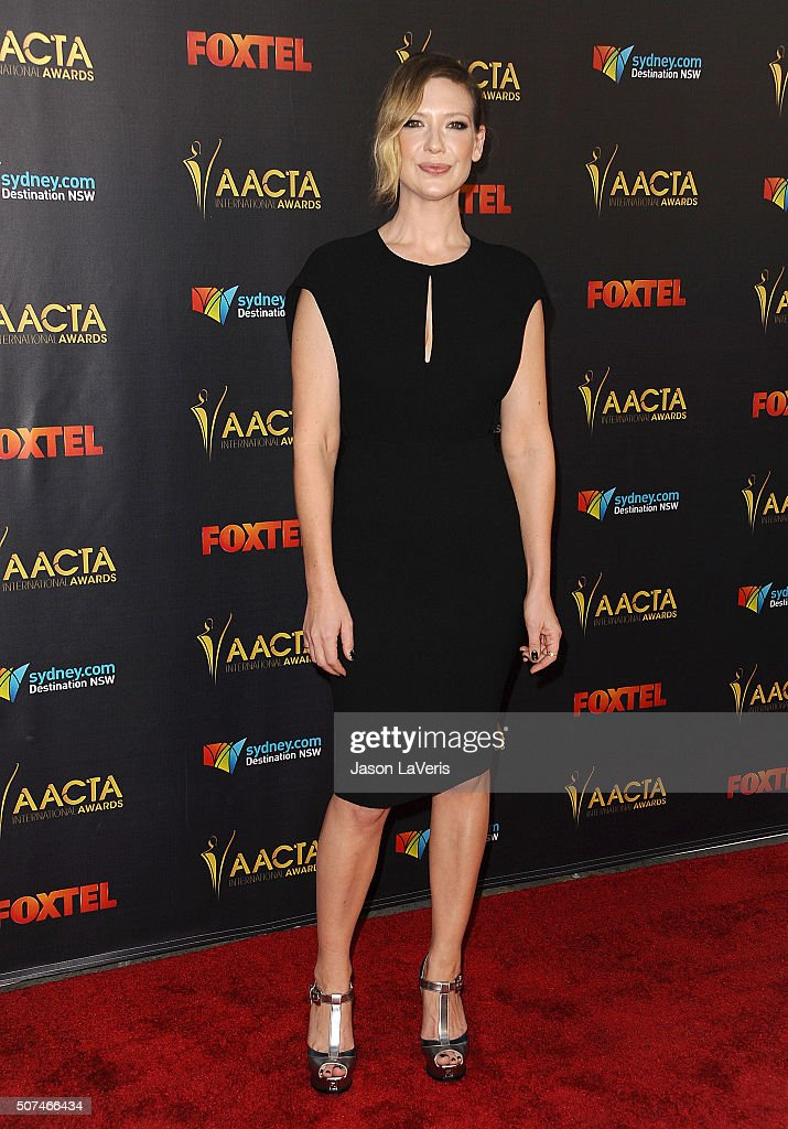 Actress Anna Torv attends the AACTA International Awards at Avalon Hollywood on January 29, 2016 in Los Angeles, California.