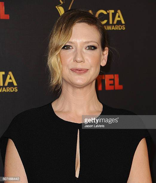 Actress Anna Torv attends the AACTA International Awards at Avalon Hollywood on January 29 2016 in Los Angeles California