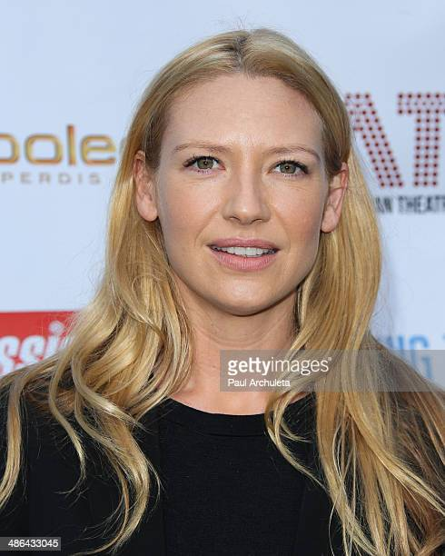 Actress Anna Torv attends the launch for the new Australian theatre company and the first production Holding The Manon April 23 2014 in Los Angeles...