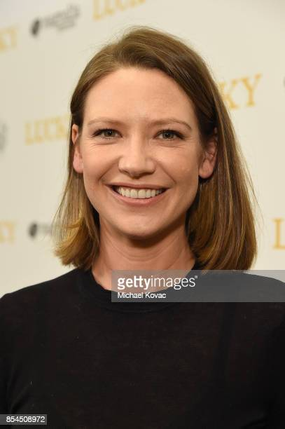 Actress Anna Torv attends the Los Angeles premiere of 'Lucky' at Linwood Dunn Theater on September 26 2017 in Los Angeles California