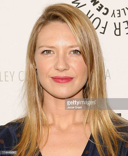 Actress Anna Torv attends The Paley Center for Media presententation of Fringe at The Paley Center for Media on May 19 2011 in Beverly Hills...