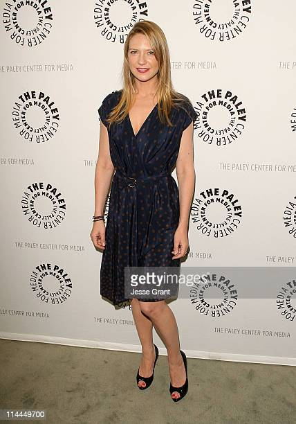 Actress Anna Torv attends The Paley Center for Media presententation of 'Fringe' at The Paley Center for Media on May 19 2011 in Beverly Hills...