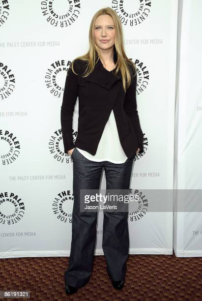 Actress Anna Torv attends the PaleyFest09 event for Fringe at the ArcLight Theater on April 23 2009 in Hollywood California