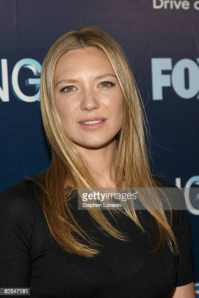 Actress Anna Torv attends the series premiere party of FOX's Fringe at THE XCHANGE on August 25 2008 in New York City