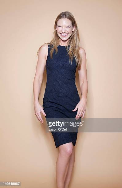 Actress Anna Torv is photographed at Comic Con Festival for TV Guide Magazine on July 23 2011 in San Diego California