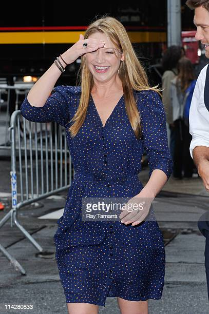 Actress Anna Torv leaves the Beacon Theater on May 16 2011 in New York City