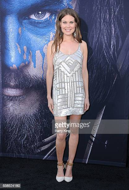 Actress Anna Van Hooft attends Universal Pictures' 'Warcraft' at TCL Chinese Theatre IMAX on June 6 2016 in Hollywood California