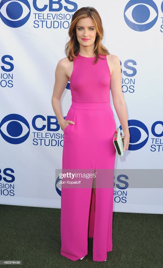 Actress Anna Wood arrives at the CBS Summer Soiree at The London West Hollywood on May 19, 2014 in West Hollywood, California.