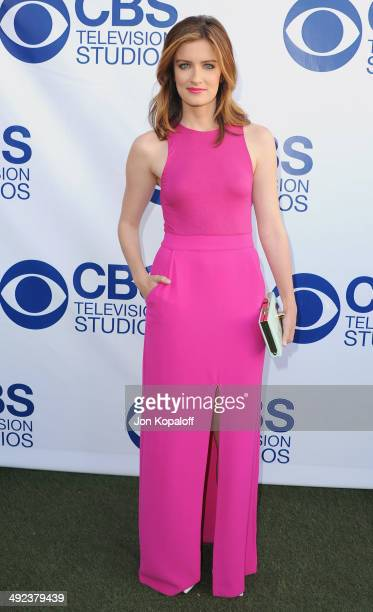 Actress Anna Wood arrives at the CBS Summer Soiree at The London West Hollywood on May 19 2014 in West Hollywood California