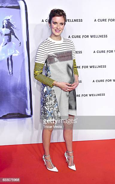 US actress Anna Wood attends the 'A Cure for Wellness' Premiere on January 29 2017 in Berlin Germany