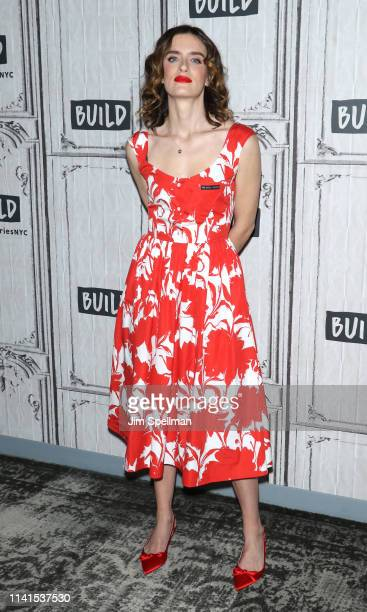 Actress Anna Wood attends the Build Series to discuss 'The Code' at Build Studio on April 09 2019 in New York City