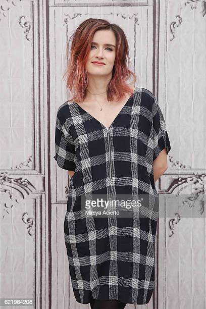 Actress Anna Wood attends The Build Series to discuss the television show 'Falling Water' at AOL HQ on November 9 2016 in New York City