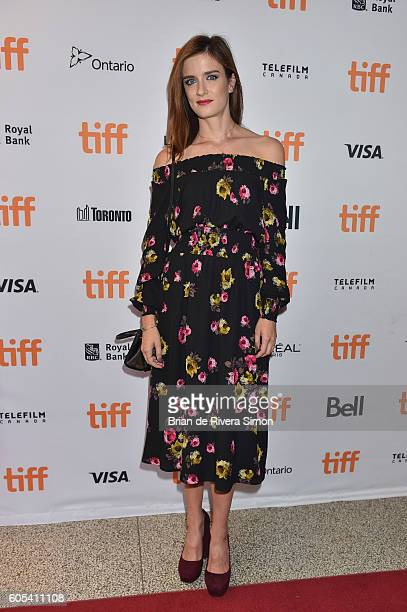 Actress Anna Wood attends the 'Two Lovers And A Bear' premiere during the 2016 Toronto International Film Festival at The Elgin on September 13 2016...