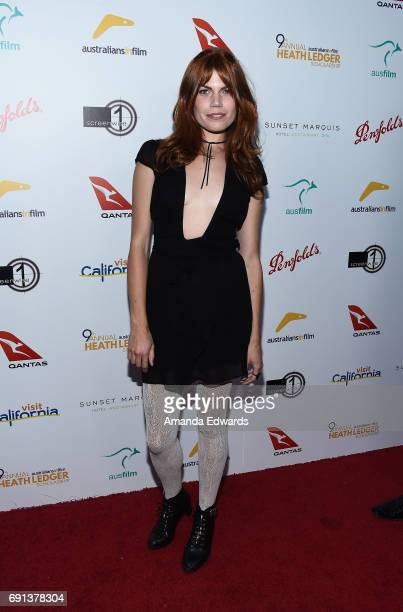 Actress Annabel MarshallRoth arrives at The 9th Annual Australians In Film Heath Ledger Scholarship Dinner at the Sunset Marquis Hotel on June 1 2017...