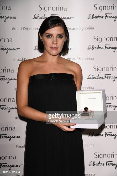Actress Annabel Scholey attends 2018 Kineo Awards during the 75th Venice Film Festival at Excelsior Hotel on September 2 2018 in Venice Italy