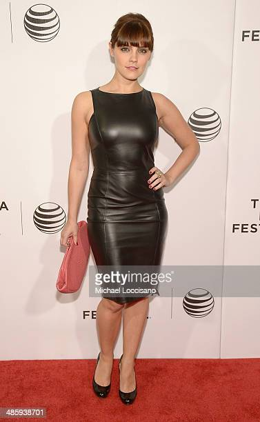 Actress Annabel Scholey attends Tribeca Talks After The Movie NOW In the Wings On A World Stage during the 2014 Tribeca Film Festival at BMCC Tribeca...