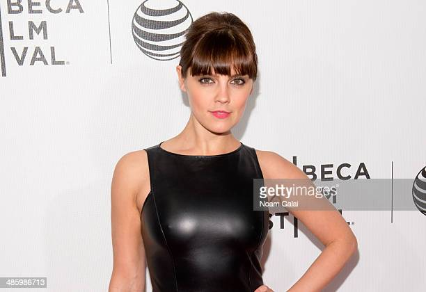 Actress Annabel Scholey attends Tribeca Talks After the Movie 'NOW In the Wings on a World Stage' during the 2014 Tribeca Film Festival at BMCC...