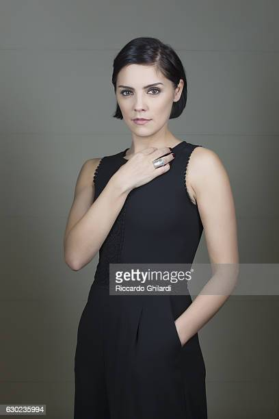 Actress Annabel Scholey is photographed for Self Assignment on December 8 2016 in Rome Italy