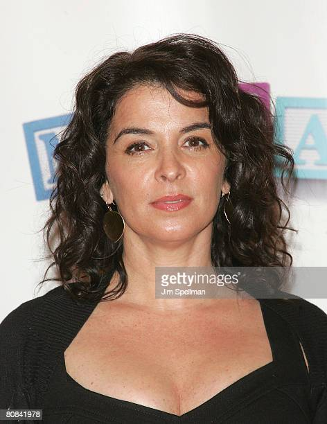 Actress Annabella Sciorra arrives at 7th Annual Tribeca Film Festival 'Baby Mama' Opening Night Premiere at the Ziegfeld Theater on April 23 2008 in...
