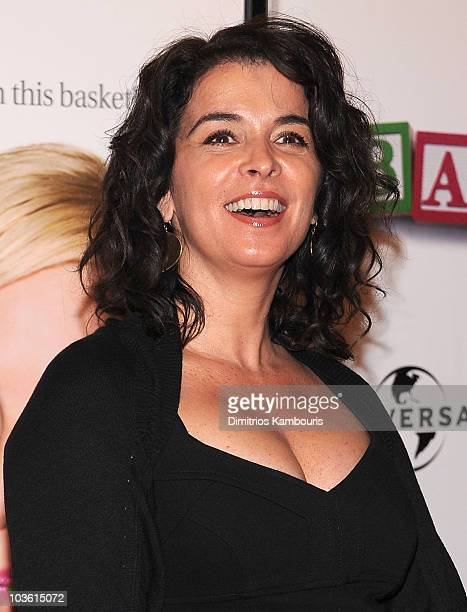 Actress Annabella Sciorra arrives to the 'Baby Mama' premiere at the Ziegfeld Theatre during the 2008 Tribeca Film Festival on April 23 2008 in New...