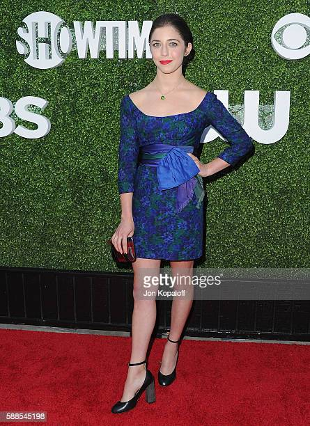 Actress Annabelle Attanasio arrives at CBS CW Showtime Summer TCA Party at Pacific Design Center on August 10 2016 in West Hollywood California
