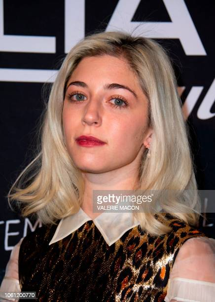 Actress Annabelle Attanasio arrives at the AFI FEST 2018 Presented By Audi Cinema Italian Style KickOff Event and Inaugural Cinecitta Key Award...