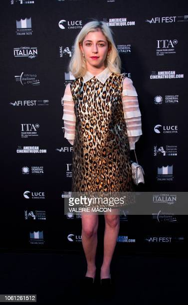 Actress Annabelle Attanasio arrives at the AFI FEST 2018 Presented By Audi Cinema Italian Style'18 Opening Night Gala and LA premiere screening of...