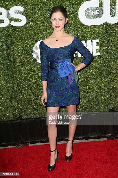 Actress Annabelle Attanasio arrives at the CBS CW Showtime Summer TCA Party at the Pacific Design Center on August 10 2016 in West Hollywood...