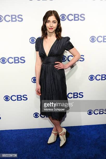 Actress Annabelle Attanasio of CBS television series Bull attends the 2016 CBS Upfront at Oak Room on May 18 2016 in New York City