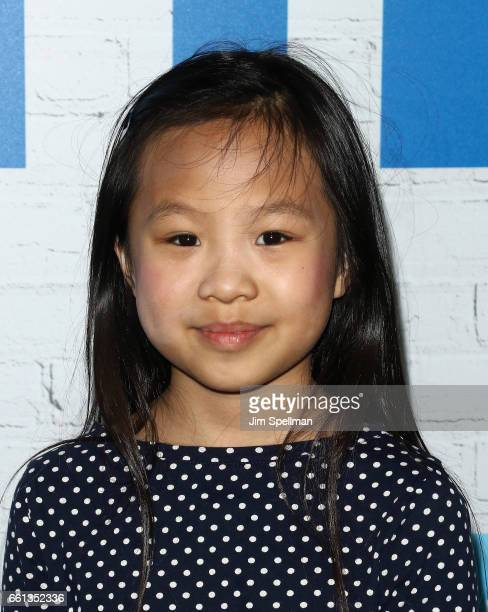 Actress Annabelle Chow attends the Going In Style New York premiere at SVA Theatre on March 30 2017 in New York City