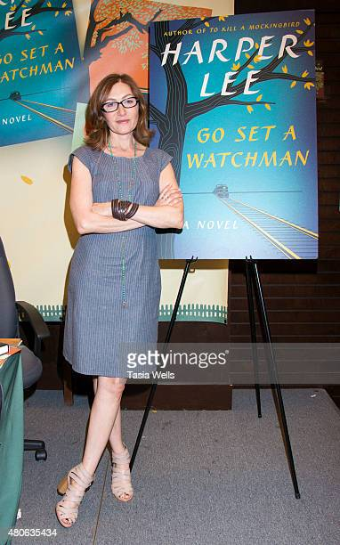 """Actress Annabelle Gurwitch poses for portrait at Celebrate Harper Lee: """"To Kill a Mockingbird"""" Read-a-Thon at Barnes & Noble at The Grove on July 13,..."""