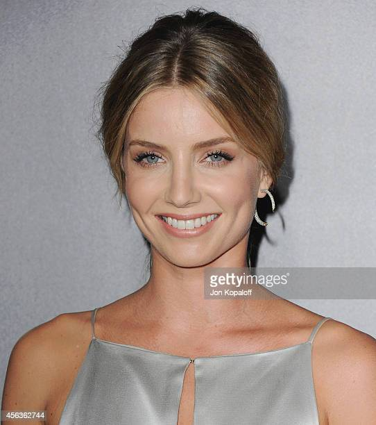 Actress Annabelle Wallis arrives at the Los Angeles Premiere Annabelle at TCL Chinese Theatre on September 29 2014 in Hollywood California