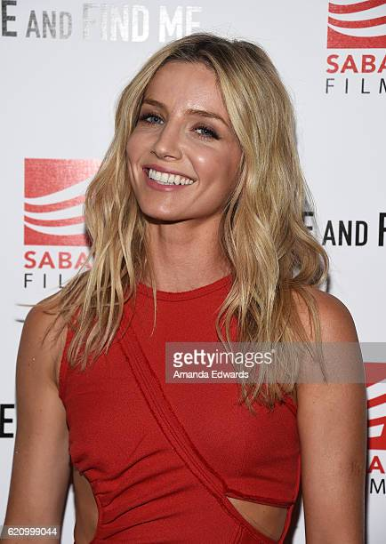 Actress Annabelle Wallis arrives at the premiere of Saban Films' Come and Find Me at the Pacific Theatre at The Grove on November 3 2016 in Los...