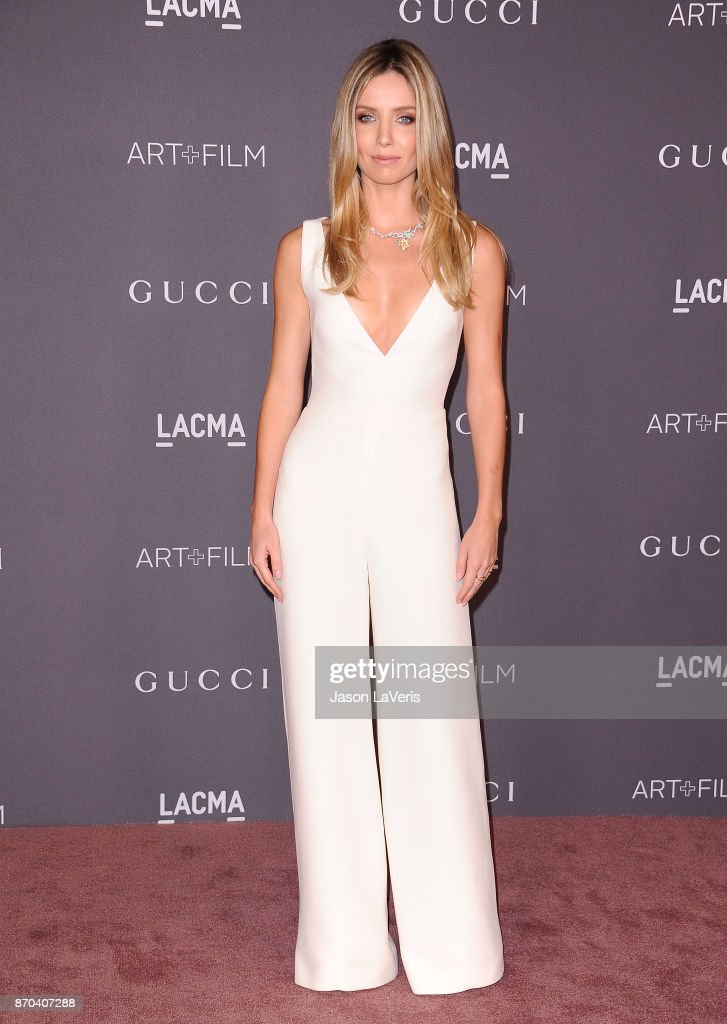 Actress Annabelle Wallis attends the 2017 LACMA Art + Film gala at LACMA on November 4, 2017 in Los Angeles, California.