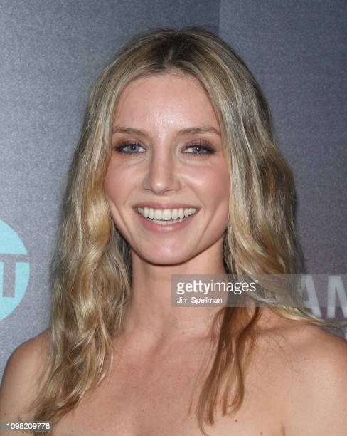 Actress Annabelle Wallis attends the New York premiere Of TNT's 'I Am The Night' at Metrograph on January 22 2019 in New York City