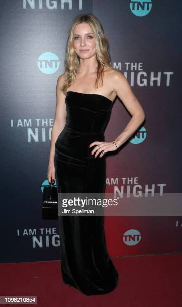 Actress Annabelle Wallis attends the New York premiere Of TNT's I Am The Night at Metrograph on January 22 2019 in New York City