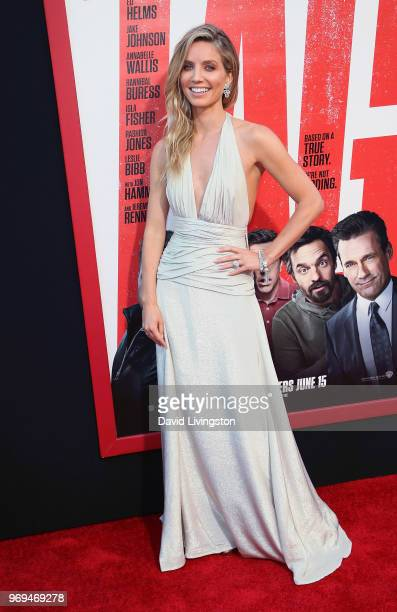 Actress Annabelle Wallis attends the premiere of Warner Bros Pictures and New Line Cinema's Tag at Regency Village Theatre on June 7 2018 in Westwood...