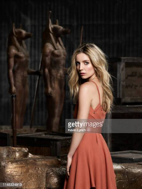 Actress Annabelle Wallis is photographed for Universal Pictures on April 1 2017 in Los Angeles California